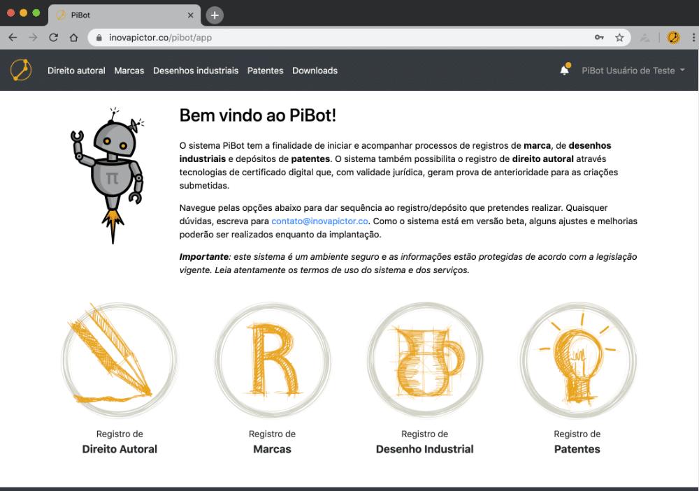 PiBot: simples e eficiente